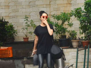 Shraddha Kapoor spotted at Dance Class, Andheri