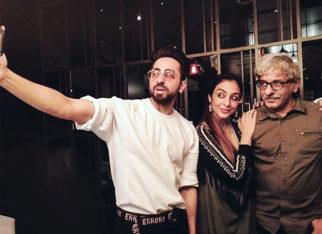 Tabu and Sriram Raghavan attend special screening of Ayushmann Khurrana starrer Andhadhun in Melbourne