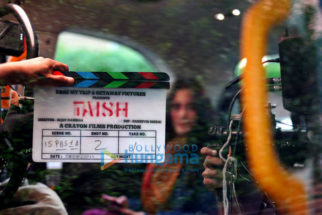 On The Sets Of The Movie Taish