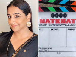 Vidya Balan partners with Ronnie Screwvala to produce Natkhat