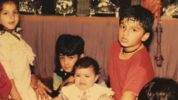 Way back Wednesday Anshula Kapoor posts an adorable childhood picture and wants to be chauffeured around by Arjun Kapoor!