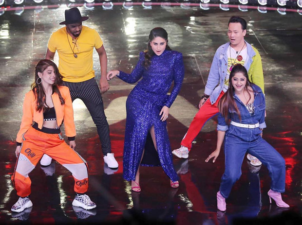 Kareena Kapoor Khan recreates the sensuous moves from 'Raat Ka Nasha' on the stage of Dance India Dance 7