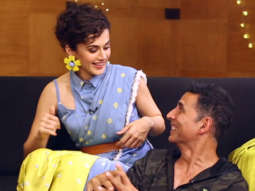 Akshay Kumar's HILARIOUS FIGHT With Taapsee Lack of screens and Piracy Vidya