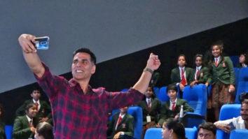 Akshay Kumar host Special Screening of Mission Mangal for School Kids at Inox