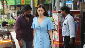 Alia Bhatt spotted at Vishesh Films Office at Juhu