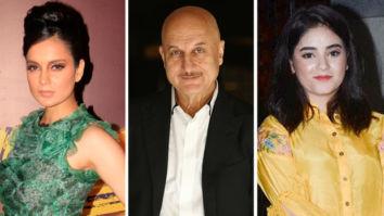 Article 370 scrapped: Kangana Ranaut, Anupam Kher, Zaira Wasim react to bifurcation of Jammu And Kashmir