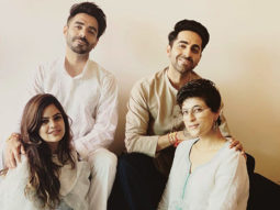 Ayushmann Khurrana and Aparshakti Khurrana's picture with their wives oozes love and happiness!