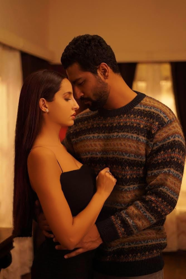 Bhushan Kumar brings Vicky Kaushal and Nora Fatehi together for a passionate single, 'Pachtaoge'