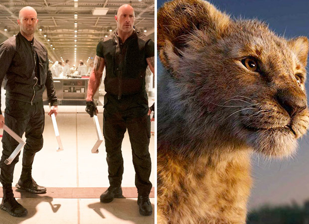 Box Office - Fast & Furious Presents: Hobbs & Shaw aims for Rs. 70 crores lifetime, The Lion King set to enter Rs. 150 Crore Club - Friday updates