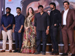 Celebs grace the trailer launch of Syeraa Narasimha Reddy Part 1