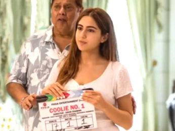 Coolie No 1: Sara Ali Khan shares a heartwarming birthday message for David Dhawan