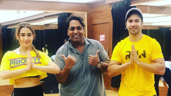 Coolie No 1: Varun Dhawan and Sara Ali Khan begin rehearsals for a peppy dance number with Ganesh Acharya
