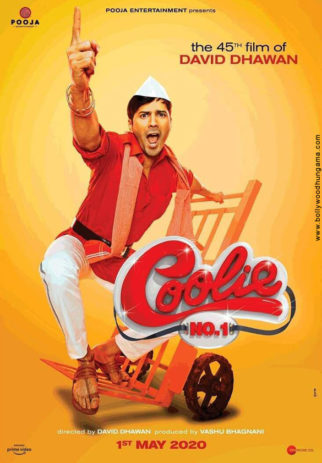 First Look Of The Movie Coolie No. 1