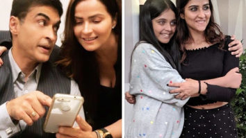 Daughters Pranutan and Krishaa Bahl visited their dad Mohnish Bahl on the sets of Sanjivani and it is heart-warming!