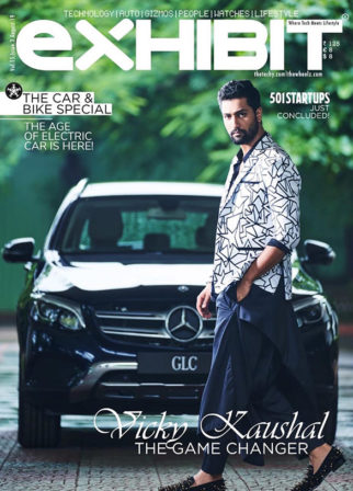 Vicky Kaushal On The Covers Exhibit