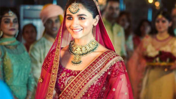 Alia Bhatt becomes the face of Mohey Fashions, posts pictures looking like a true-blue Indian bride!