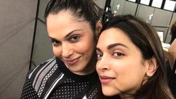 Isha Koppikar shares post-workout selfie with Deepika Padukone