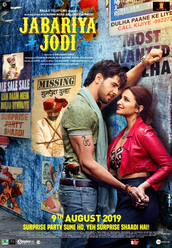 Jabariya Jodi 2019 Hindi Movie 350MB HDRip 480p ESubs Download