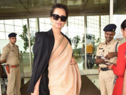 Kangana Ranaut dons a Rs. 600 hand weaved saree from Kolkata and is in news yet again!