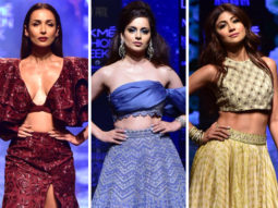 Lakme Fashion Week 2019 Malaika Arora, Kangana Ranaut and Shilpa Shetty bring festive glamour and timeless elegance to the ramp