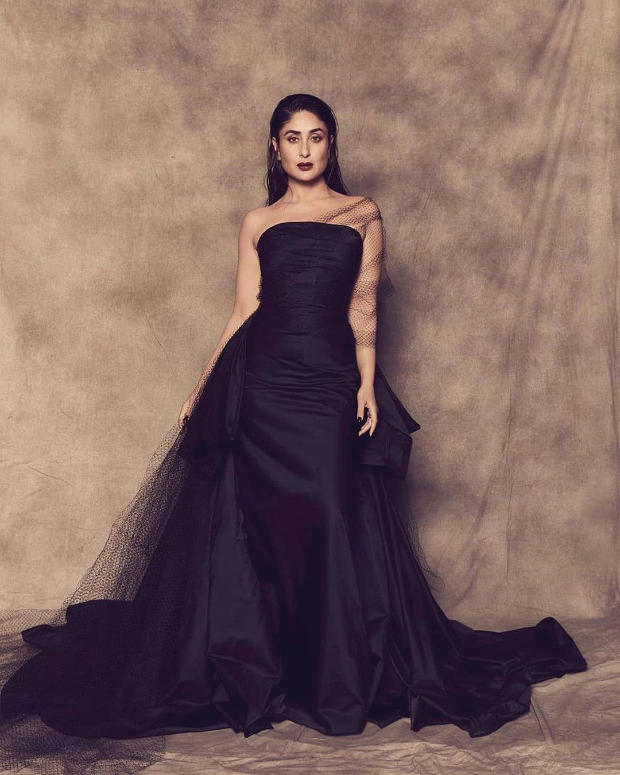 Lakme Fashion Week Winter/Festive 2019: Kareena Kapoor Khan is a royalty in red and black Gauri & Nainika couture at grand finale