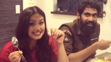 New Buddies in Town! Huma Qureshi and Rana Daggubati enjoy Indian food in California