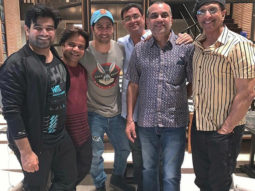 PHOTO: Varun Dhawan chills with the cast of Coolie No 1 in Bangkok