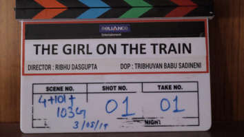 Parineeti Chopra starrer The Girl on The Train remake goes on floors; film to release in 2020