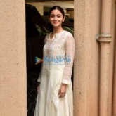 Photos: Alia Bhatt snapped post a meeting at Sanjay Leela Bansali's office in Juhu