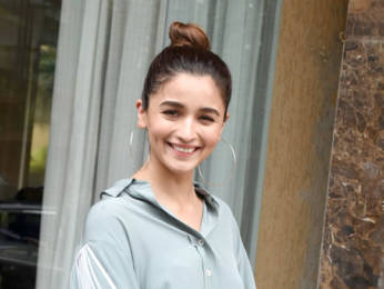 Photos: Alia Bhatt snapped while promoting the Punjabi track 'Prada'