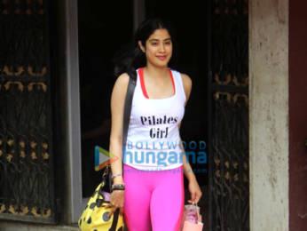 Photos: Janhvi Kapoor snapped post Pilates