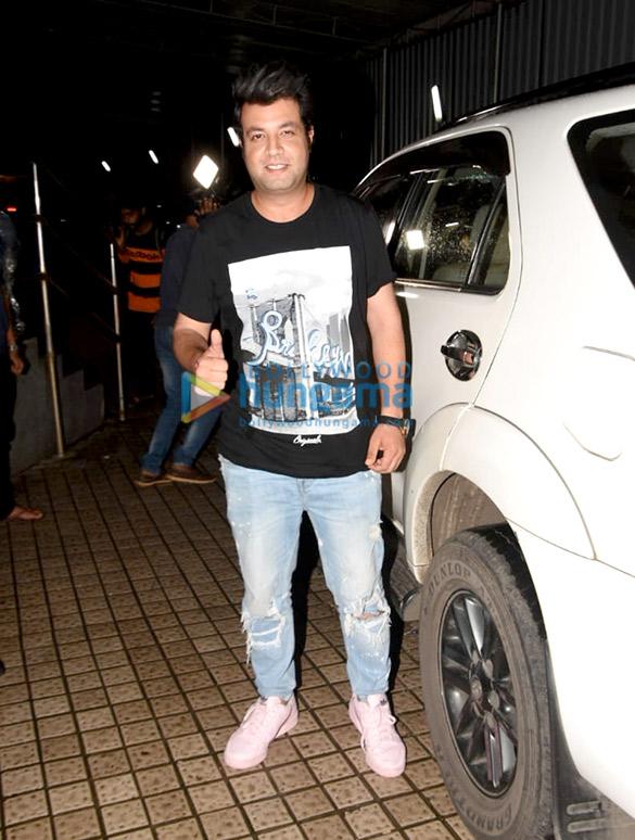 Photos Kriti Sanon, Varun Sharma and Dinesh Vijan spotted at Juhu PVR (3)