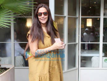 Photos: Neha Dhupia spotted at Sequel