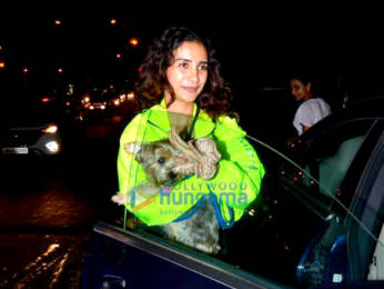Photos: Patralekha spotted at The Kitchen Garden in Juhu