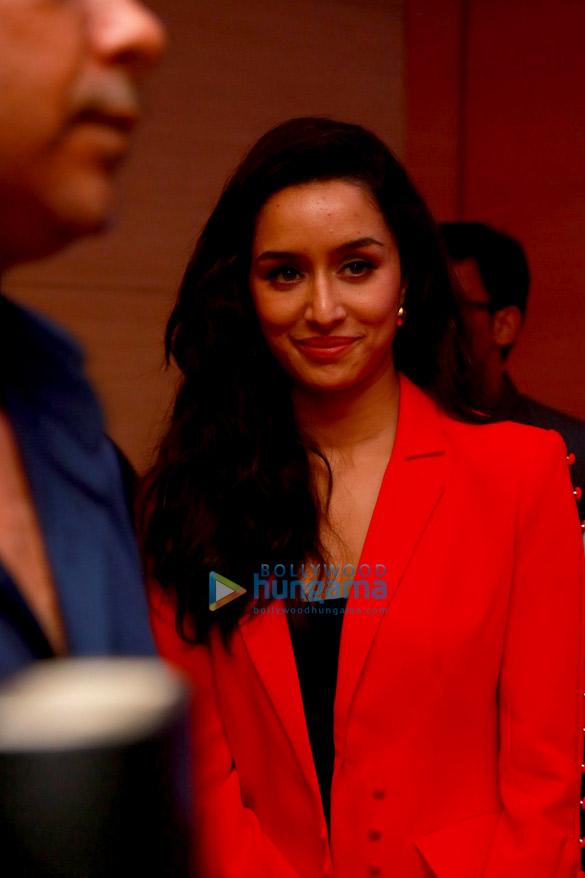 Photos: Prabhas and Shraddha Kapoor snapped at the press meet of Saaho