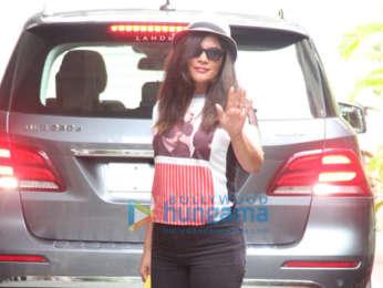 Photos: Richa Chadda spotted at a salon in Bandra
