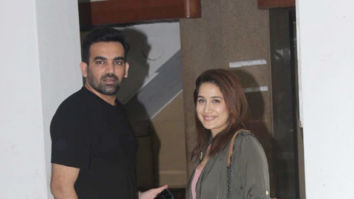 Photos: Zaheer Khan and Sagarika Ghatge snapped in Bandra