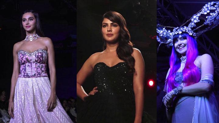 Rhea Chakraborty, Adah Sharma, Shibani dandekar & others on Ramp at Lakme Fashion Week