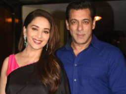 Salman Khan & Madhuri Dixit at Hum Aapke Hain Kaun screening to celebrate 25th anniversary