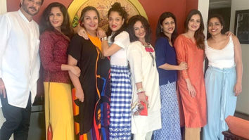 Shabana Azmi's house party was all about the red lipstick, love, and laughter!