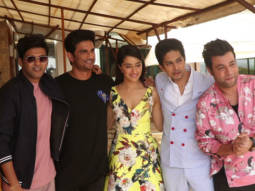 Shraddha Kapoor, Sushant Singh Rajput and others at Sun and Sand hotel