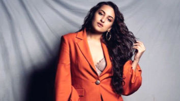 Sonakshi Sinha's got her 'Orange Dolly' mode on in this outfit by Osman Studio