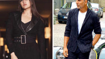 Sonakshi Sinha PUSHES Akshay Kumar off his chair and it is straight-up hilarious!