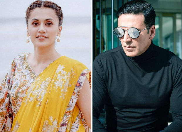 Taapsee Pannu speaks up on criticism against Akshay Kumar who is prominently featuring on Mission Mangal posters