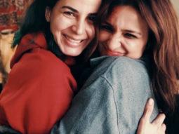 The Girl On The Train: Parineeti Chopra and Kirti Kulhari share a hug after their first scene together