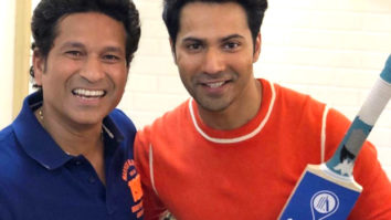 Varun Dhawan begins chat show on his YouTube channel with Sachin Tendulkar