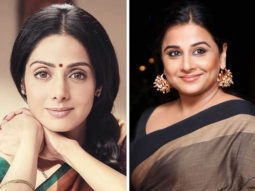 Vidya Balan launches the cover of the book Sridevi Girl Woman Superstar