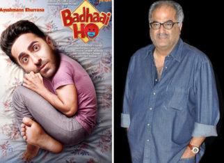 Boney Kapoor to remake Ayushmann Khurrana's Badhaai Ho in Tamil