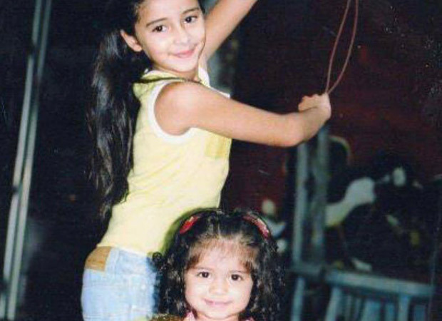 Ananya Panday's throwback picture with Rysa Panday is all about the sibling love!