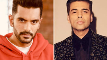 Angad Bedi digs into Karan Johar's wardrobe for his look in The Zoya Factor